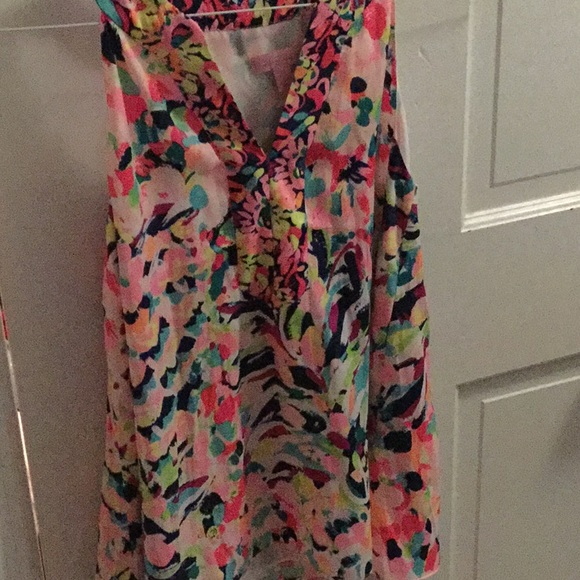 Lilly Pulitzer Tops - Sleeveless Lilly Pulitzer Top